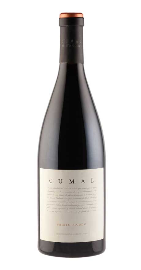 Tecnovino botella de vino Cumal de Bodega Dostares