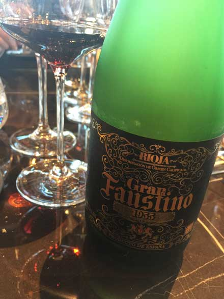 Tecnovino vinos de Grupo Faustino Gran Faustino 1955