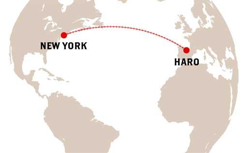 Tecnovino Barrio de la Estacion mapa Haro New York