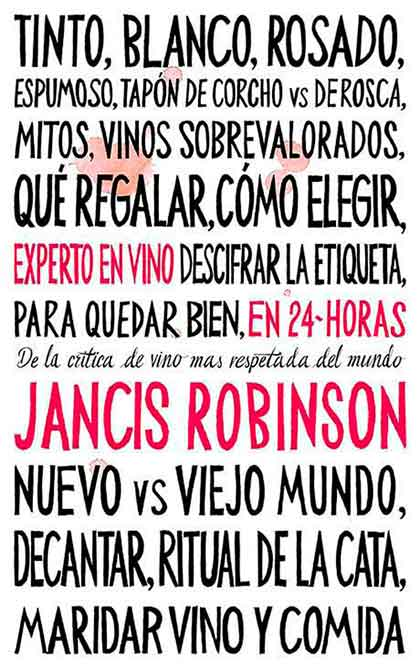 Tecnovino Experto en vino libro Jancis Robinson