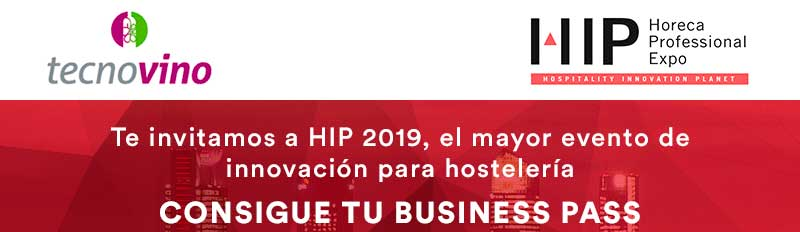 Tecnovino HIP 2019 Sorteo Business Pass