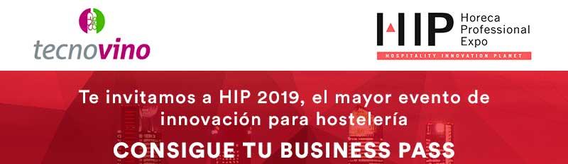 Tecnovino HIP 2019 Sorteo Business Pass