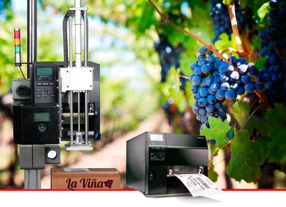 Tecnovino impresion para el sector vitivinicola Toshiba 0