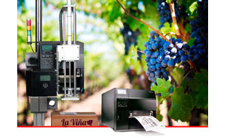 Tecnovino impresion para el sector vitivinicola Toshiba detalle OK