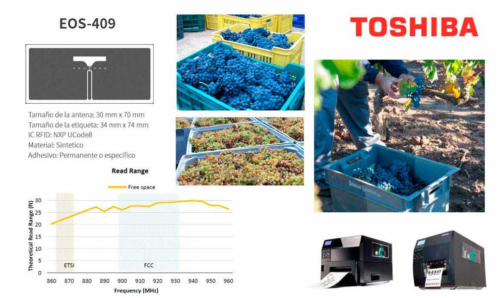 Tecnovino tecnologia RFID Toshiba 1