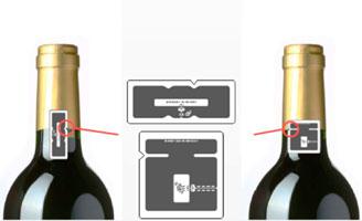 Tecnovino tecnologia RFID Toshiba detalle