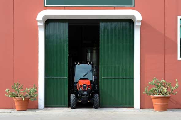 Tecnovino tractor de Same para vinedo Frutteto CVT 01