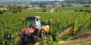 Salto tecnológico en la mecanización del viñedo con el tractor de SAME, Frutteto CVT