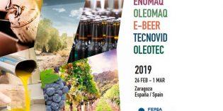 En marcha Enomaq y Tecnovid, citas esenciales de maquinaria y tecnología para bodegas y viñedo
