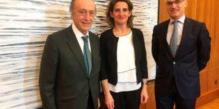 La FEV traslada a la ministra Teresa Ribera el compromiso de las bodegas contra el cambio climático