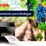 La solución integral de etiquetado para el sector vitivinícola de Toshiba presente en Enomaq