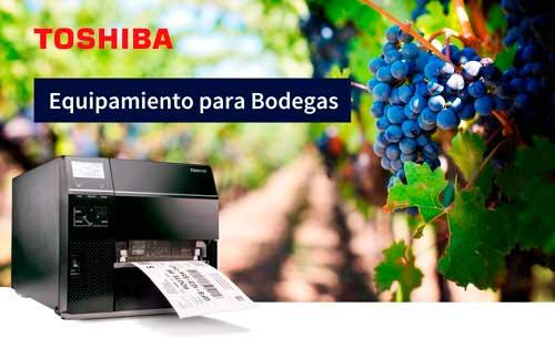 Tecnovino etiquetado para el sector vitivinicola Toshiba