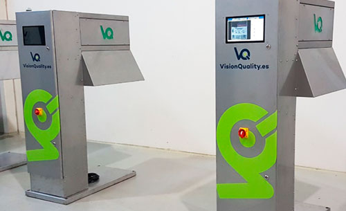 Tecnovino inspeccion de envases vino cava VisionQuality 3 detalle