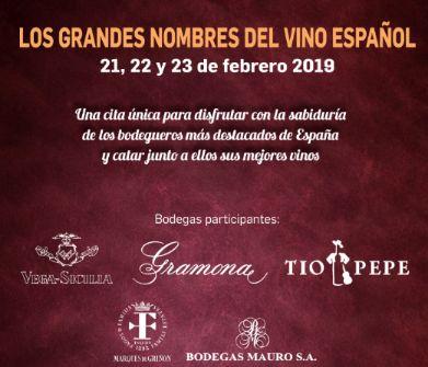 Tecnovino los grandes nombres del vino español