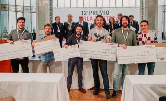 Tecnovino 12o Premio Vila Viniteca ganadores detalle