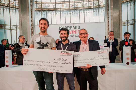 Tecnovino 12o Premio Vila Viniteca ganadores