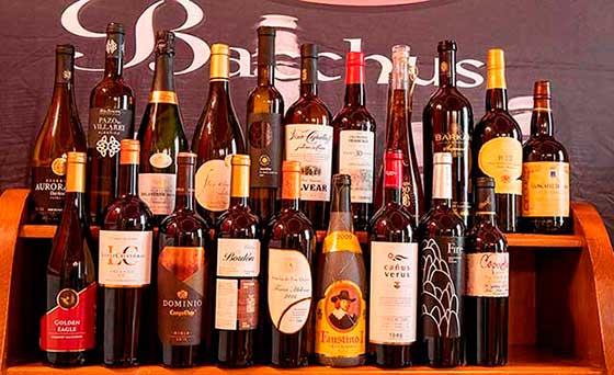 Tecnovino Concurso de Vinos Bacchus 2019 Gran Oro detalle