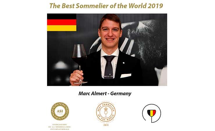 Tecnovino Mejor Sumiller del Mundo BSOW 2019 Marc Almert