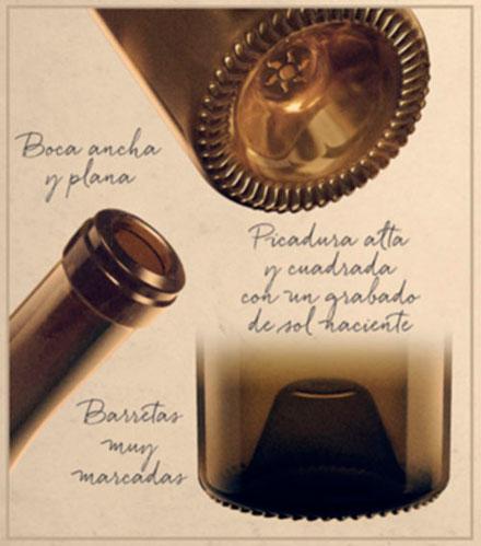 Tecnovino botellas para vinos Gama Asia Verallia 2