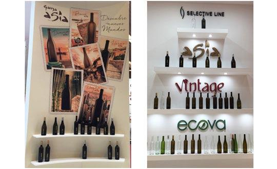 Tecnovino botellas para vinos Gama Asia Verallia detalle
