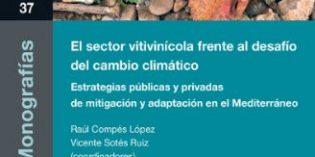 Una publicación recoge los retos del vino ante el cambio climático