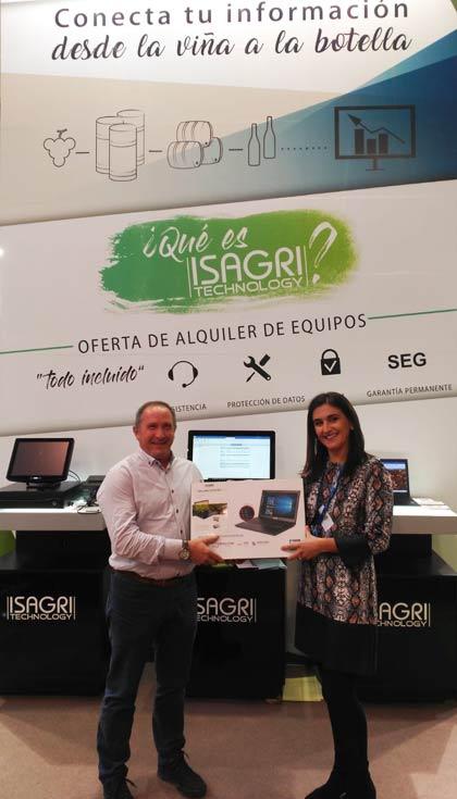 Tecnovino concurso Isagri Technology