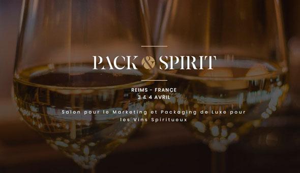 Tecnovino ferias vitivinicolas Pack and Spirit