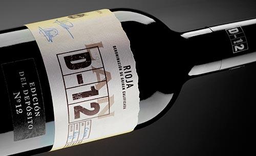 Tecnovino vino LAN D 12 Bodegas LAN detalle