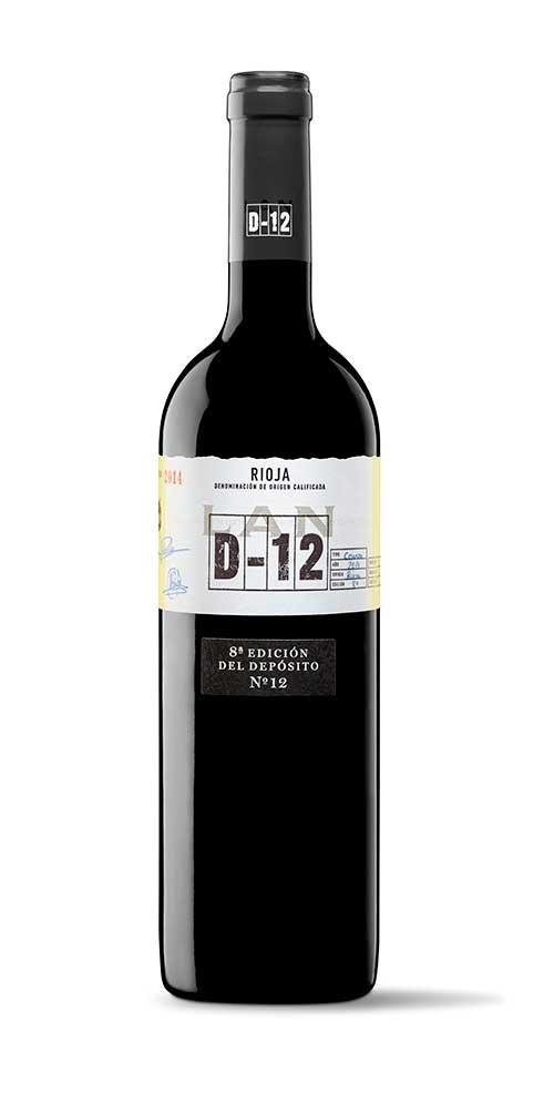Tecnovino vino LAN D 12 Bodegas LAN