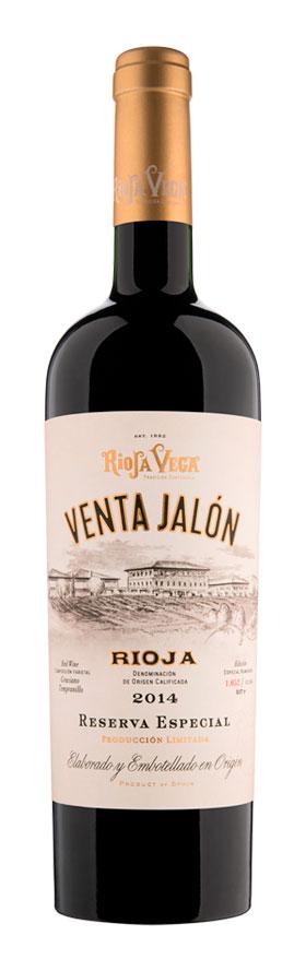 Tecnovino Rioja Vega Venta Jalon Reserva 2014 botella