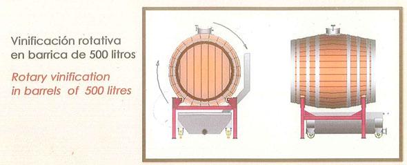 Tecnovino barrica de 500 litros Toneleria Duero 1