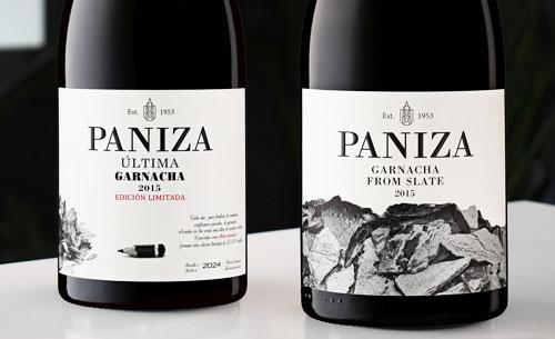 Tecnovino vinos de garnacha Bodegas Paniza detalle