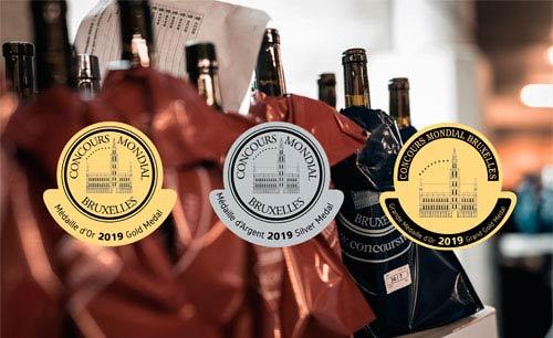 Tecnovino mejores vino blanco y rosado Concours Mondial Bruxelles 2019 detalle