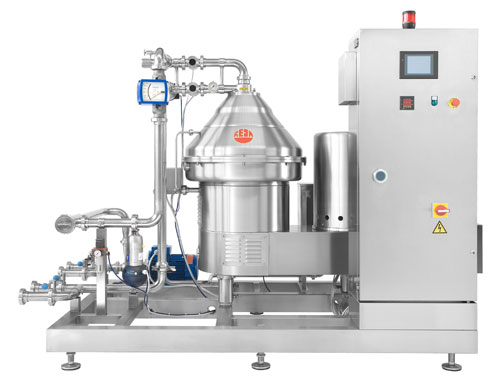 Tecnovino sistema de centrifugacion soluciones para elaborar vino de Reda Iberica