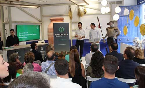 Tecnovino presentación en Madrid de la DO Manchuela