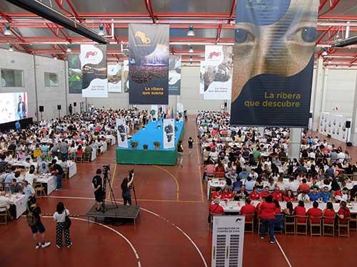 Tecnovino recinto de celebración de los Premios Envero