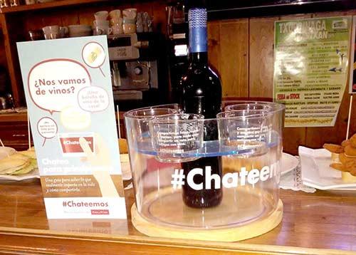 Tecnovino campana de vino OIVE chateemos chatocubo 1