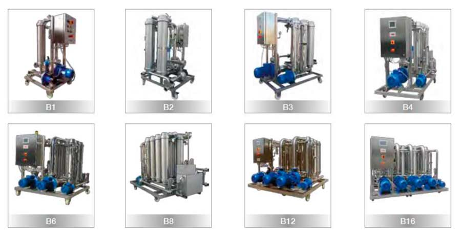 Tecnovino filtracion tangencial para vino Bared