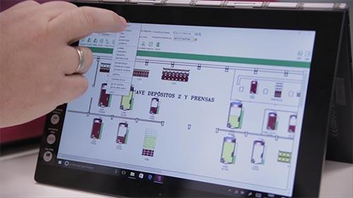 Tecnovino software para bodegas Nimbus Bodega