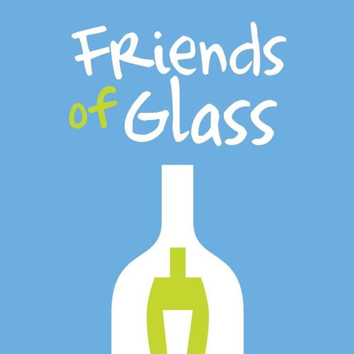 Tecnovino Friends of Glass logo
