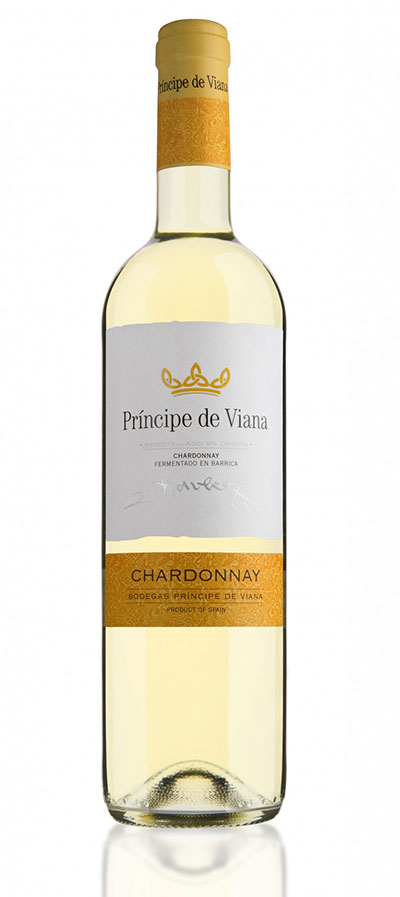 Tecnovino vinos de Principe de Viana Chardonnay