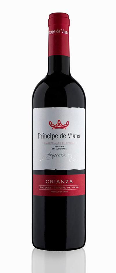 Tecnovino vinos de Principe de Viana crianza