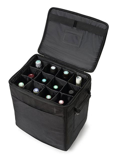 Tecnovino transportar vino en la maleta Lazenne 2