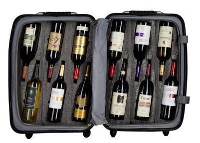 Tecnovino transportar vino en la maleta VinGardeValise 2