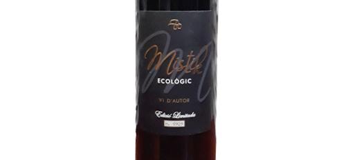Tecnovino vino ecologico y vegano Mistik Alkimia Wines etiqueta
