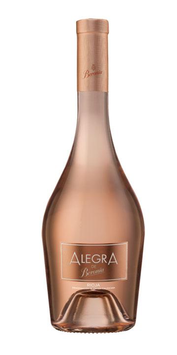 Tecnovino vino rosado Alegra de Bodegas Beronia 1