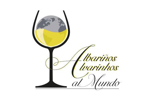 Tecnovino Albarinos al Mundo 2019 logo detalle