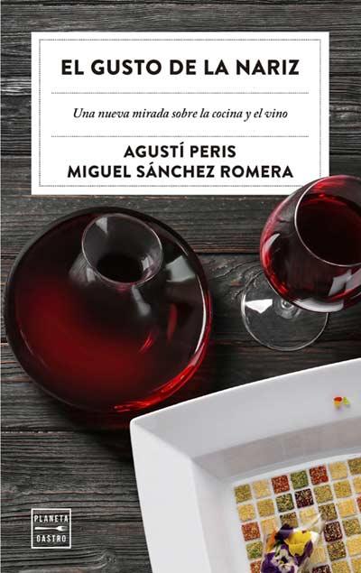 Tecnovino portada del libro El gusto por la nariz sobre cocina y vino