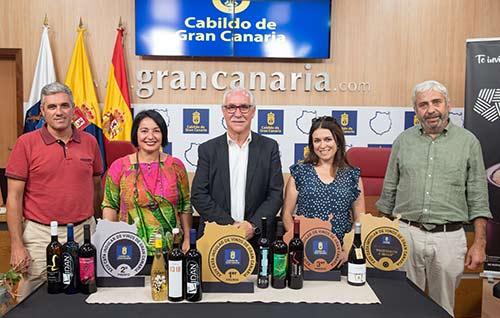 Tecnovino Mejores Vinos de Gran Canaria 2019 detalle