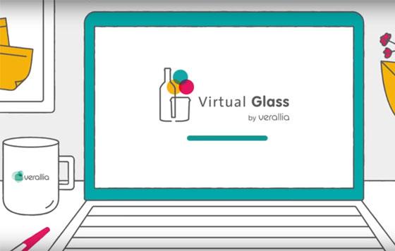 Tecnovino Verallia Virtual Glass envases de vidrio en 3D vino detalle